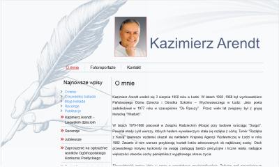 Kazimierz Arendt - Poeta i bajkopisarz.